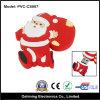 Tipo mecanismo impulsor del flash del USB del PVC (PVC-CS007) del padre de la Navidad de la historieta