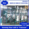 Capacity pequeno 10ton Per Day Wheat Flour Milling Machine Roller Mill