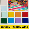 Binnen Diverse Zuivere Vloer van pvc van de Kleur