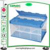 Recipiente de caixa de transferência de plástico transparente