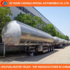 3 차축 50cbm Fuel Tank Trailer 50000 Liters Aluminium Alloy Oil Tank Trailer
