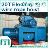Alzamiento eléctrico alzamiento de cuerda eléctrico de alambre de 20 toneladas
