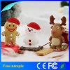 La Navidad promocional a granel 4GB 8GB 16GB Pendrive de Papá Noel del regalo