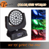 Diodo emissor de luz Moving Head Light do profissional 36PCS*10W Auto Zoom