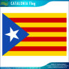 Poliéster impresso Eco-Friendly uma bandeira nova de Catalonia do estado de Europa