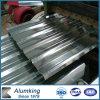 Folha de alumínio ondulada do material de construção