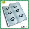 Papier de soie de soie imprimé par logo fait sur commande en gros d'emballage de cadeau de couleur