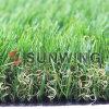 Hierba artificial verde natural de calidad superior