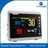المهنية الصانع 7inch لمتعدد المعلمة مراقبة المريض (SNP9000C)