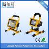 Gran luz de inundación portable recargable de la producción 30W LED de China