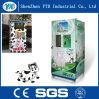 Leche fresca, máquina expendedora automática del agua mineral con precio barato