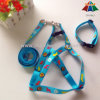 Printed modellato Dog Collar Leash e Harness