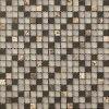 15X15X8mm Glass Mix Marble Mosaic (VMS207)