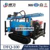 最大Depth 100m Dfq-100 Pneumatic Crawler Borehole Drilling Rig