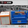 Hoja automática del hierro acanalado del panel de la azotea de Dx que hace la máquina