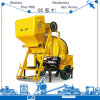 Machine concrète professionnelle de mélangeur de mélange de moteur diesel de la Chine (mélangeur concret de JZR)
