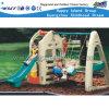 Corrediça dos brinquedos das crianças e equipamento plásticos do jogo dos jogos do balanço (HC-16512)