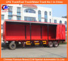 2-Axle resistente Curtain Side DIY Semi Trailer
