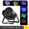 18pcsx15W 6in1 LED PAR Light Wash per la discoteca Stage del DJ