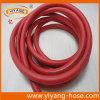 Singola macchinetta a mandata d'aria rossa Braided costolata del tubo flessibile della saldatura