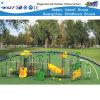 Centro plástico Playsets HD-Zbc501 do jogo de crianças da corrediça da combinação animal