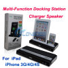Многофункциональное Docking Station Charger Speaker для iPhone 3G/4G/4s/iPad/iPad2/iPad3
