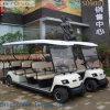 Los chinos fabrican el carro eléctrico de 11 Seaters para visitar puntos de interés