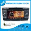 Androïde 4.0 Car GPS Navigation pour Skoda Yeti 2011 avec la zone Pop 3G/WiFi BT 20 Disc Playing du jeu de puces 3 de GPS A8