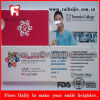Großverkauf eingewachsene tadellose Kreditkarte-Form-zahnmedizinische Glasschlacke