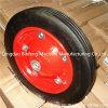 Rubber contínuo Wheel para Wheelbarrow Hand Trolley