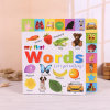 Книга доски детей книжного производства детей высокого качества цветастая