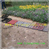 Moulages matériels de pierre de brique de tuile en béton de trottoir de passage couvert de jardin de pp DIY