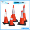Reflektierender Straßen-Verkehrs-Kegel des Band-S-1217