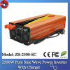 2500W 24V gelijkstroom aan 110/220V AC Pure Sine Wave Power Inverter met Charger