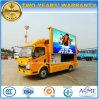 Promoção de Sinotruk 4X2 HOWO que anuncia o veículo com diodo emissor de luz Sreeen de HD