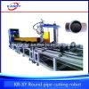 Автомат для резки трубы плазмы CNC 5 осей тяжелый для стали углерода нержавеющей стали