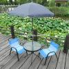 Insieme esterno della mobilia del giardino del patio di modello