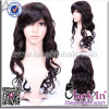 24 인치 5A Unprocessed 인도 Fashionable Virgin Human Hair Lace Cheap Wig