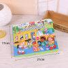Colorante del libro infantil, libro de relleno del color de los cabritos