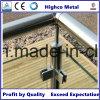 Contributo del corrimano all'angolo della balaustra dell'inferriata dell'acciaio inossidabile