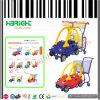 Chariot de achat de chariot à enfants de plastique de supermarché pour des gosses