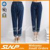 De Jeans van het Denim van de Stijl van Europa Negen Broek die zich voor de Meisjes van de Vrouw kleden