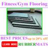 Azulejos de suelo y Rolls de goma para el suelo de la gimnasia de Hom