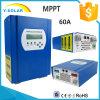 contrôleur solaire de 60AMP MPPT 12V/24V/48V avec la transmission Smart2-60A de RS232+LAN
