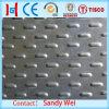 Aço inoxidável da gota AISI304 do rasgo de Mandorla da placa