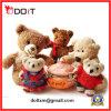 Brinquedo macio da boneca do urso de Brown do luxuoso como o presente do dia de Chirdren