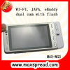 WG3 4 teléfono celular de la venda 2 SIM TV WiFi Java