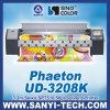 Máquina de impressão de solvente Ud-3278k com cabeças de impressão Spt510 / 50pl
