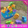 2016 giocattoli di legno per i ragazzi di 1 anno, giocattoli di legno dell'equilibrio del bambino all'ingrosso dell'equilibrio dei migliori bambini di vendita per i ragazzi W11f047 di 1 anno
