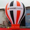 balão à terra inflável enorme do arco-íris de 15FT com logotipo da bandeira